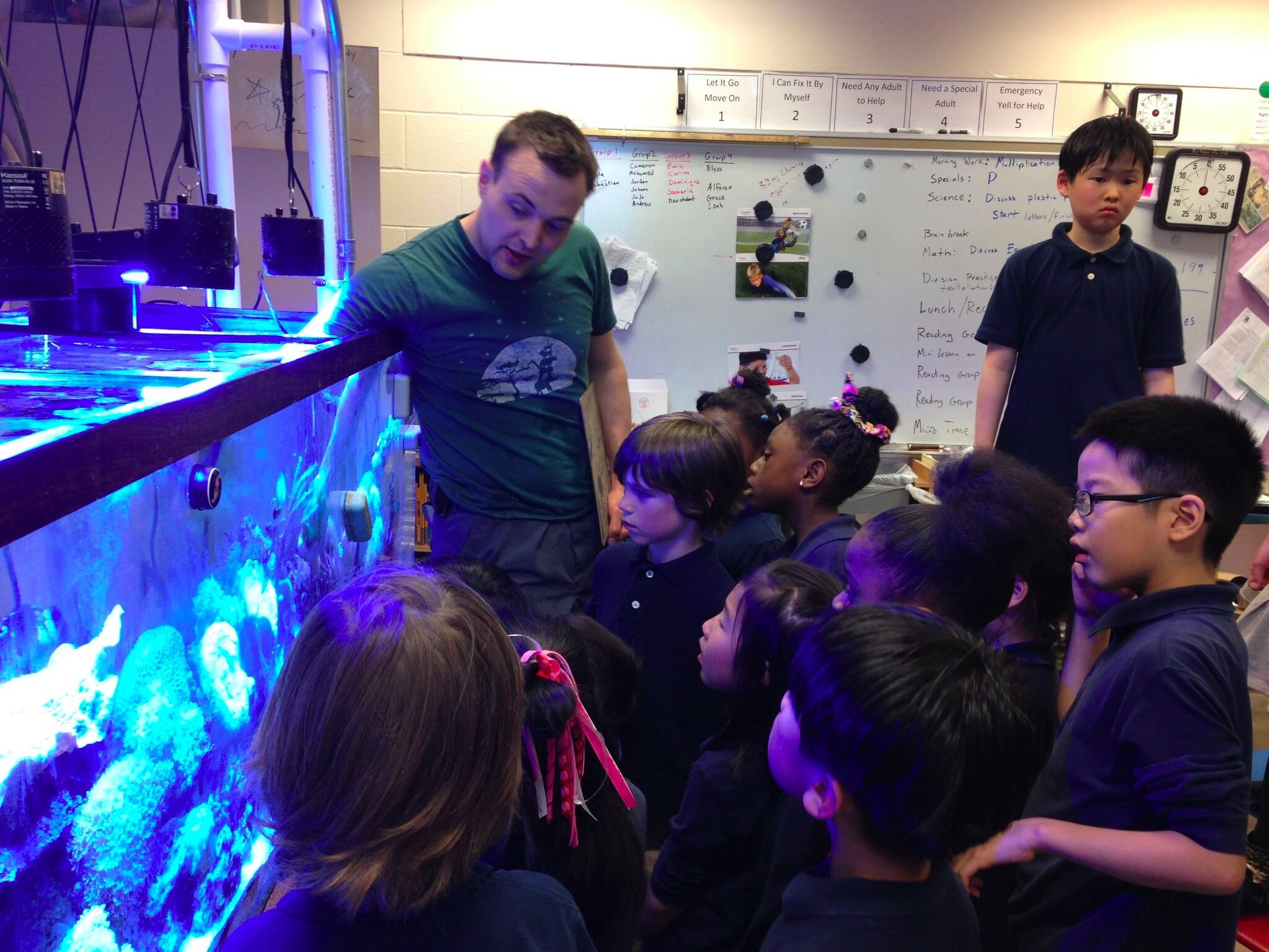 Titan Aquatics Taking Aquariums Into The Classroom