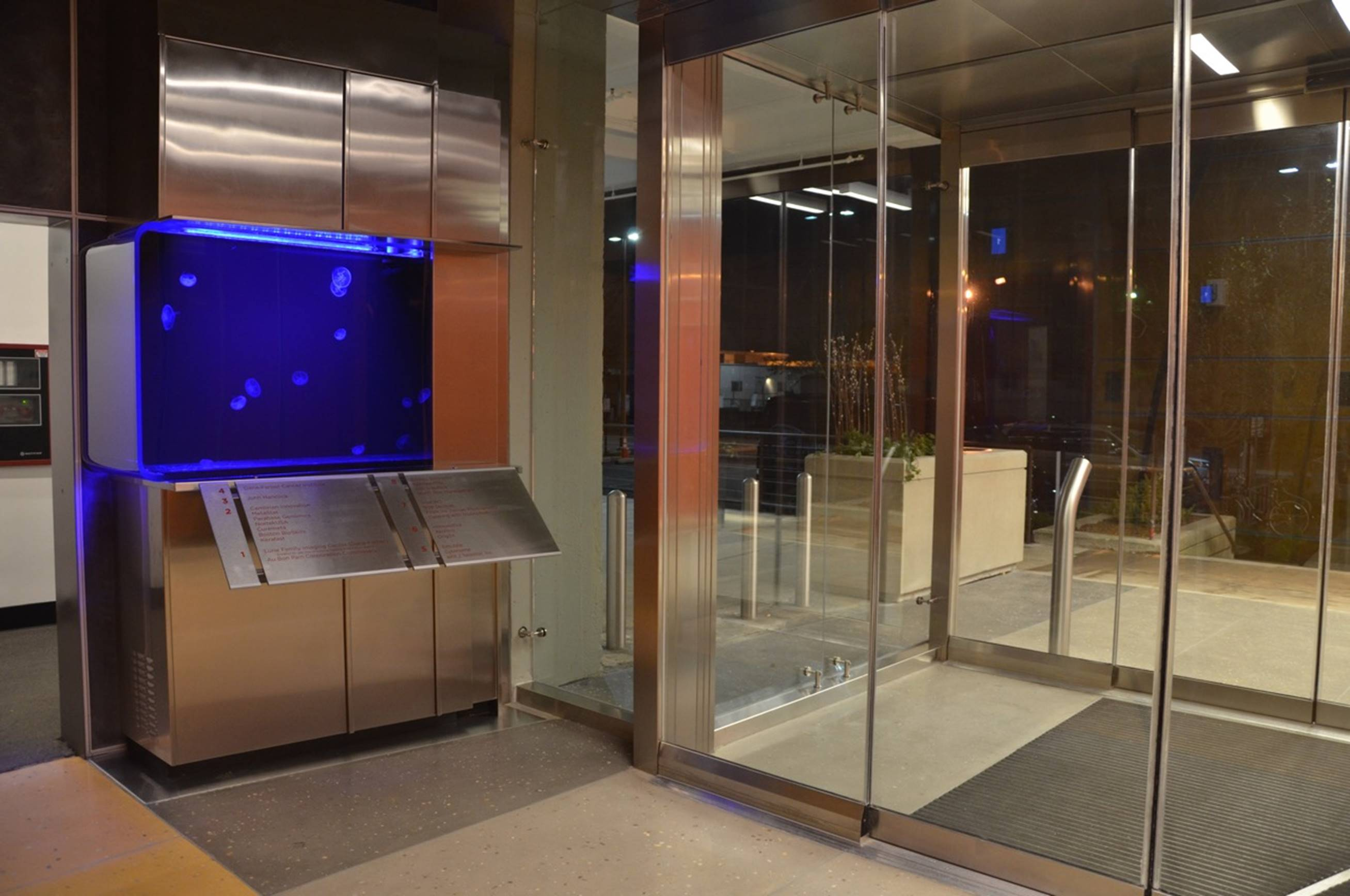Lobby Jellyfish Tank