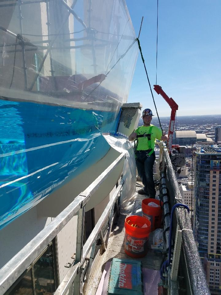 What Is The Glass Bottom Pool Houston Famous For?